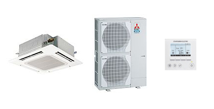 Ceiling Cassette System Air Conditioner Units